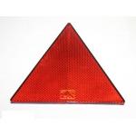 Triunghi reflectorizant cu autolipire 156x136 mm rosu