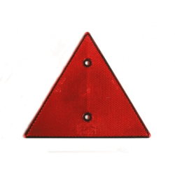Triunghi reflectorizant 156x136 mm, rosu